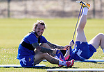 St Johnstone Training...23.04.21<br />Stevie May pictured with Liam Craig during training this morning ahead of Sundays Scottish Cup game against Rangers.<br />Picture by Graeme Hart.<br />Copyright Perthshire Picture Agency<br />Tel: 01738 623350  Mobile: 07990 594431