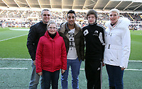 Tuesday 01 January 2013<br /> Pictured: Neil Taylor.<br /> Re: Barclays Premier League, Swansea City FC v Aston Villa at the Liberty Stadium, south Wales.