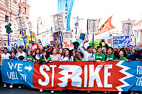 Student Climate Strike in New York City 9.20.19 where Greta Thunberg spoke demanding climate change action, one of more than 800 Global Climate Strike demonstrations prior to UN Climate Summit meeting.