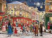 CHRISTMAS SANTA, SNOWMAN, WEIHNACHTSMÄNNER, SCHNEEMÄNNER, PAPÁ NOEL, MUÑECOS DE NIEVE, paintings+++++,KL6206,#x#