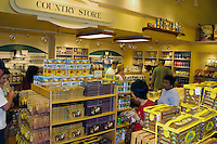 The Dole Plantation store offers visitors a wide variety of gift items from which to chose as well as delicious pinapple treats. Located in the central plains of Oahu's pineapple fields.