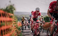 Bauke Mollema  (NED/Trek-Segafredo) up La Redoute<br /> <br /> 104th Liège - Bastogne - Liège 2018 (1.UWT)<br /> 1 Day Race: Liège - Ans (258km)