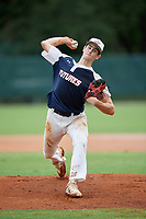 Alex Galvan (44) during the WWBA World Championship at the Roger Dean Complex on October 11, 2019 in Jupiter, Florida.  Alex Galvan attends Manasquan High School in Brielle, NJ and is committed to Louisville.  (Mike Janes/Four Seam Images)