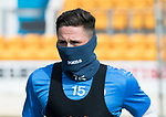 St Johnstone Training…04.04.17<br />On loan defender Clive Smith pictured during training this morning ahead of tomorrow's game against Hearts<br />Picture by Graeme Hart.<br />Copyright Perthshire Picture Agency<br />Tel: 01738 623350  Mobile: 07990 594431