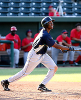 Jarrett Burgess / AZL Mariners playing against the AZL Angels at Tempe Diablo Stadium - 08/02/2008..Photo by:  Bill Mitchell/Four Seam Images