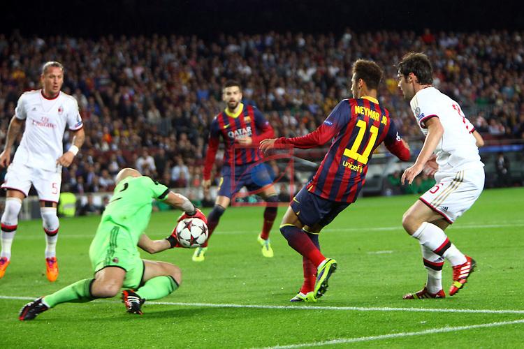 Fc Barcelona Vs Ac Milan 3 1 Game 4 Silver Press Agency