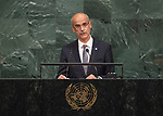 72 General Debate – 22 September <br /> <br /> His Excellency Antoni Martí Petit, Head of Government of the Principality of Andorra