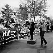 Manchester, New Hampshire.January 6, 2008..Democratic presidential candidate Sen. Hillary Clinton (D-NY) and her daughter Chelsea Clinton meets supporters. Coming off a third place finish in the Iowa caucus Hillary Clinton is looking to rebound in the New Hampshire primary..