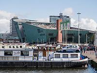 Hafen Oosterdok, Kindermuseum NEMO Science Center, Amsterdam, Provinz Nordholland, Niederlande<br /> Oosterdok harbour, children's museum NEMO science center, Amsterdam, Province North Holland, Netherlands