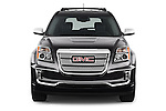 Car photography straight front view of a 2016 GMC Terrain Denali 5 Door SUV Front View