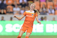 Houston, TX - Sunday Sept. 25, 2016: Janine Becki during a regular season National Women's Soccer League (NWSL) match between the Houston Dash and the Seattle Reign FC at BBVA Compass Stadium.