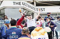 New Zealand and India fans make the most of the lack of play during India vs New Zealand, ICC World Test Championship Final Cricket at The Hampshire Bowl on 18th June 2021