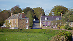 Houses Next To Grands Vaux Reservoir, Jersey.