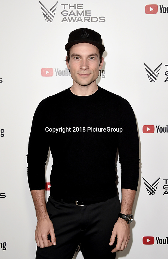 LOS ANGELES - DECEMBER 6: Jeroslav Beck attends the 2018 Game Awards at the Microsoft Theater on December 6, 2018 in Los Angeles, California. (Photo by Scott Kirkland/PictureGroup)