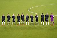 Aufstellung Deutschland - Stuttgart 05.09.2021: Deutschland vs. Armenien, Mercedes-Benz Arena Stuttgart