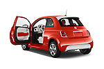 Car images of a 2014 Fiat 500e 3 Door Hatchback Doors