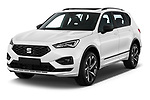 2020 Seat Tarraco FR 5 Door SUV Angular Front automotive stock photos of front three quarter view