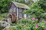 The Stoney Brook Gristmill in Brewster, Cape Cod, Massachusetts, USA
