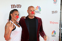 LOS ANGELES - MAY 26:  Mel Brown, aka Mel B, Stephen Belafonte at the Red Nose Day 2016 Special at Universal Studios on May 26, 2016 in Los Angeles, CA