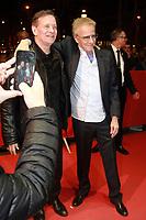 Francis Huster, Christophe Lambert - Avant-première du film 'Chacun sa vie' à Paris, le 13/03/2017.