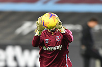 Darren Randolph during West Ham United vs Aston Villa, Premier League Football at The London Stadium on 30th November 2020