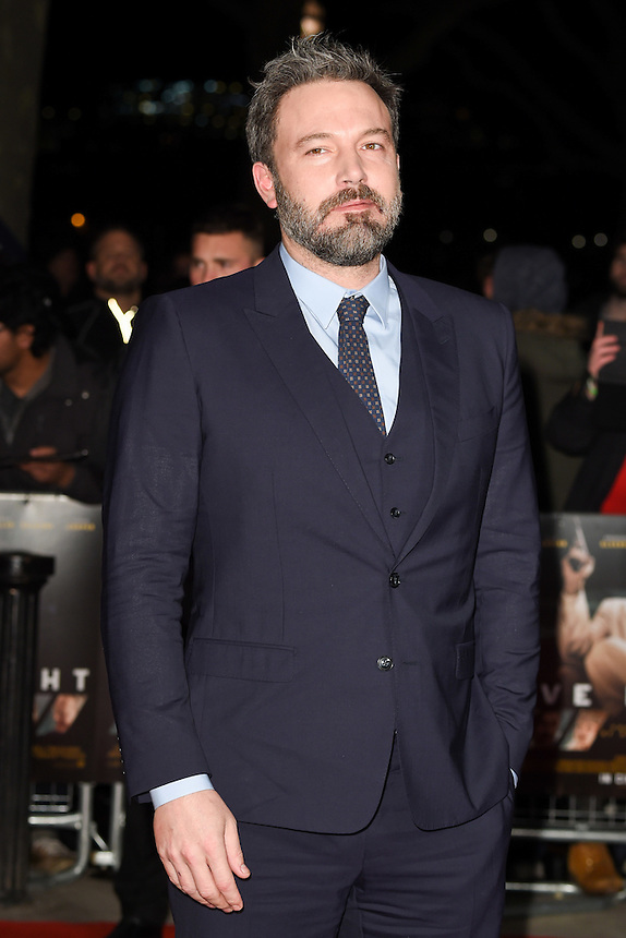"Ben Affleck<br /> at the ""Live by Night"" premiere at BFI South Bank, London.<br /> <br /> <br /> ©Ash Knotek  D3217  11/01/2017"