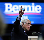 Democratic Presidential candidate Bernie Sanders at Rutgers Athletic Center in Piscataway on Sunday May 8, 2016.<br /> <br /> <br /> ON SUNDAY MAY 8, 2016<br /> <br /> <br /> COPYRIGHT:<br /> MARK R. SULLIVAN/markrsullivan.com©2016