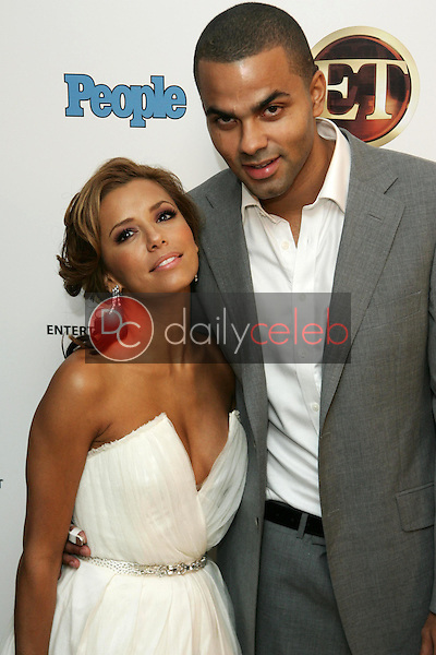 Eva Longoria and Tony Parker<br />at the 10th Annual Entertainment Tonight Emmy Party Sponsored by People. Mondrian, West Hollywood, CA. 08-27-06<br />Jason Kirk/DailyCeleb.com 818-249-4998