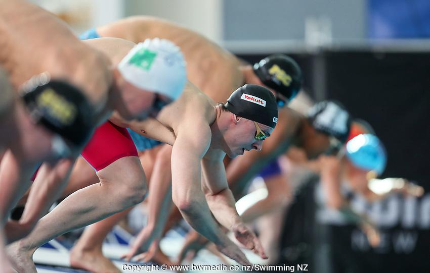 Zac Reid. New Zealand Short Course Swimming Championships, National Aquatic Centre, Auckland, New Zealand, Tuesday 1st October 2019. Photo: Simon Watts/www.bwmedia.co.nz/SwimmingNZ