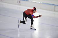 SCHAATSEN: HEERENVEEN: 10-10-2020, KNSB Trainingswedstrijd, Marten Liiv, ©foto Martin de Jong