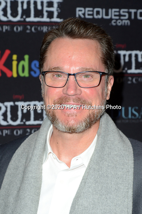 "LOS ANGELES - MAR 9:  Anthony Stark at the ""(My) Truth: The Rape of 2 Coreys"" L.A. Premiere at the DGA Theater on March 9, 2020 in Los Angeles, CA"