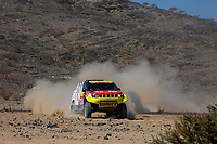 3rd January 2021, Jeddah, Saudi Arabia;  363 Rodriguez Borja (esp), Rodriguez Ruben (esp), Toyota, FN Speed - Automotor 4x4, Auto, action during the 1st stage of the Dakar 2021 between Jeddah and Bisha, in Saudi Arabia on January 3, 2021 -