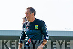 Kilmoyley manager John Meyler during the Kerry County Senior Hurling Championship Final match between Kilmoyley and Causeway at Austin Stack Park in Tralee