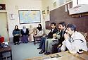 Irak 2000  Salle des professeurs dans une école de Halabja  Iraq 2000  Staffroom in a school of Halabja