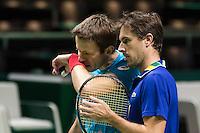 ABN AMRO World Tennis Tournament, Rotterdam, The Netherlands, 15 Februari, 2017, Edouard Roger-Vasselin (FRA), Daniel Nestop (CAN)<br /> Photo: Henk Koster