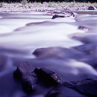Rocks and flowing river<br />