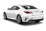 Car pictures of rear three quarter view of a 2015 Lexus RC F Sport 2 Door Coupe 2WD Angular Rear