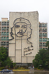 Che Guevara Portriat On Buildings, Havana