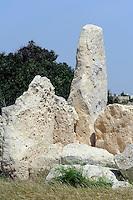 megalithisher TempelHagar Qim, Malta, Europa, Unesco-Weltkulturerbe