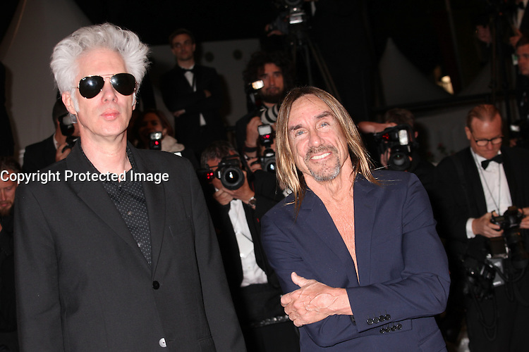 DIRECTOR JIM JARMUSCH AND IGGY POP - RED CARPET OF THE FILM 'GIMME DANGER' AT THE 69TH FESTIVAL OF CANNES 2016 , 19/05/2016.