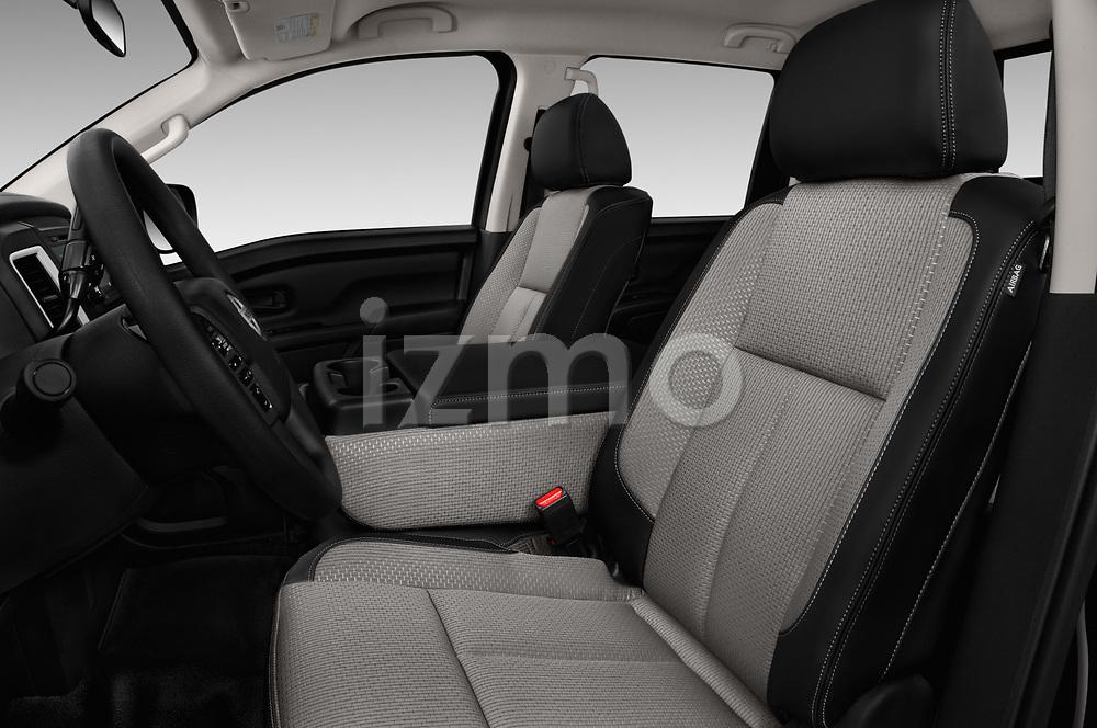 Front seat view of 2017 Nissan Titan S-Crew 4 Door Pickup Front Seat  car photos