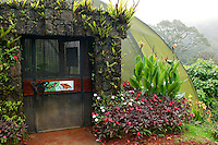 The Butterfly Observatory at the La Paz Waterfall Gardens and Peace Lodge, Costa Rica