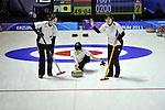 Mao Ishigaki (JPN), ..JANUARY 28, 2011 - Curling : ..The 25th Winter Universiade Erzurym 2011 between Japan Women's and Germany Women's at Curling Hall, Erzurum, Turkey. (Photo by AFLO)