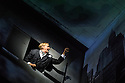 Ex Machina/Robert Lepage presents NEEDLES AND OPIUM, directed by Robert Lepage, at the Barbican Theatre. Jean Cocteau and the unnamed actor are played by Marc Labreche, with Miles Davis being played by Wellesley Robertson III. Picture shows: Marc Labreche (unnamed actor).