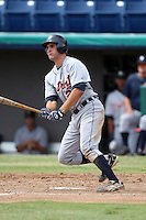 October 5, 2009:  Third Baseman Wade Gaynor of the Detroit Tigers organization during an Instructional League game at Space Coast Stadium in Viera, FL.  Gaynor was selected in the 3rd round of the 2009 MLB Draft.  Photo by:  Mike Janes/Four Seam Images
