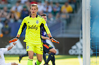 CARSON, CA - JUNE 19: Stefan Cleveland #30 of the Seattle Sounders FC during a game between Seattle Sounders FC and Los Angeles Galaxy at Dignity Health Sports Park on June 19, 2021 in Carson, California.