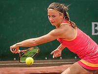 Paris, France, 29 May, 2017, Tennis, French Open, Roland Garros, Querine Lemoine (NED)<br /> Photo: Henk Koster/tennisimages.com