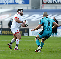 Sunday 25th October 2020   Ulster vs Dragons<br /> <br /> Marty Moore during the Guinness PRO14 match between Ulster and Dragons at Kingspan Stadium in Belfast. Photo by John Dickson / Dicksondigital