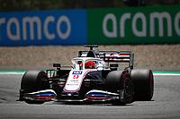 July 3rd 2021; F1 Grand Prix of Austria, qualifying sessions;   Formula 1 Austria Gran Prix 2021 Nikita Mazepin of Haas F1 Team on track  Red Bull Ring