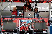#86 Michael Shank Racing with Curb-Agajanian Acura NSX, GTD: Katherine Legge, Alvaro Parente, Trent Hindman, engineers